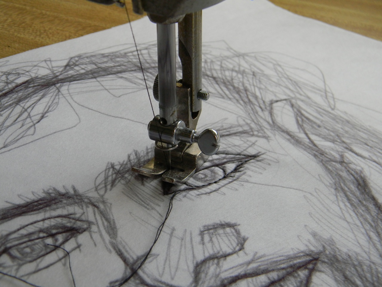 Pen Work Drawing Drawing Drawing With The