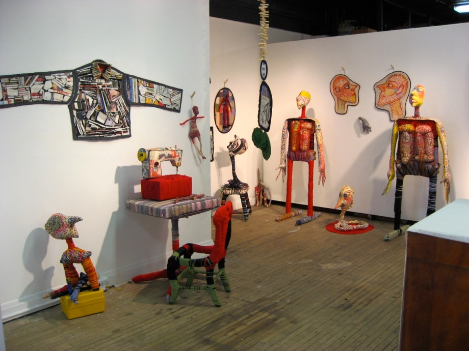 solo exhibition 2008.