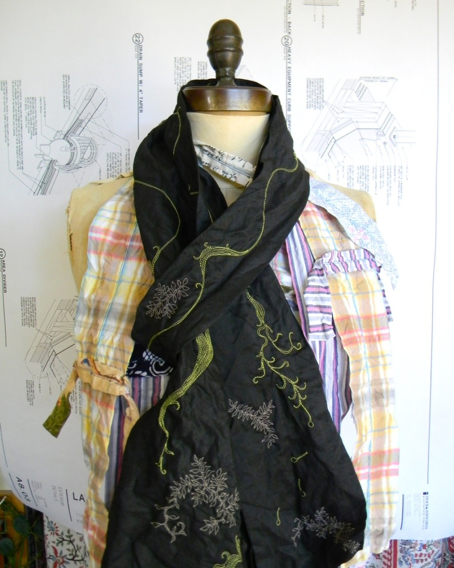 scarves for urban craft