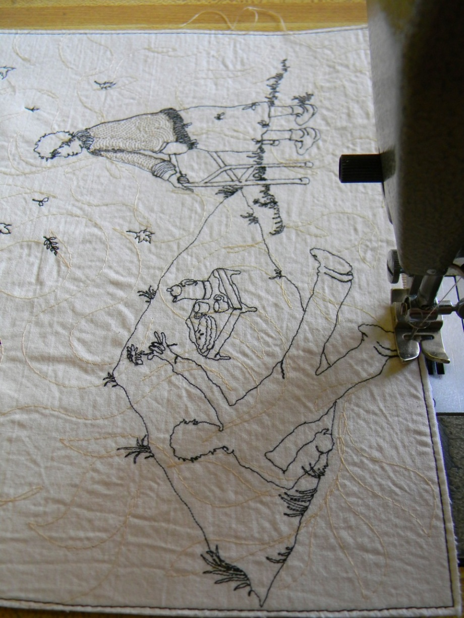 stitching wishes on the wind