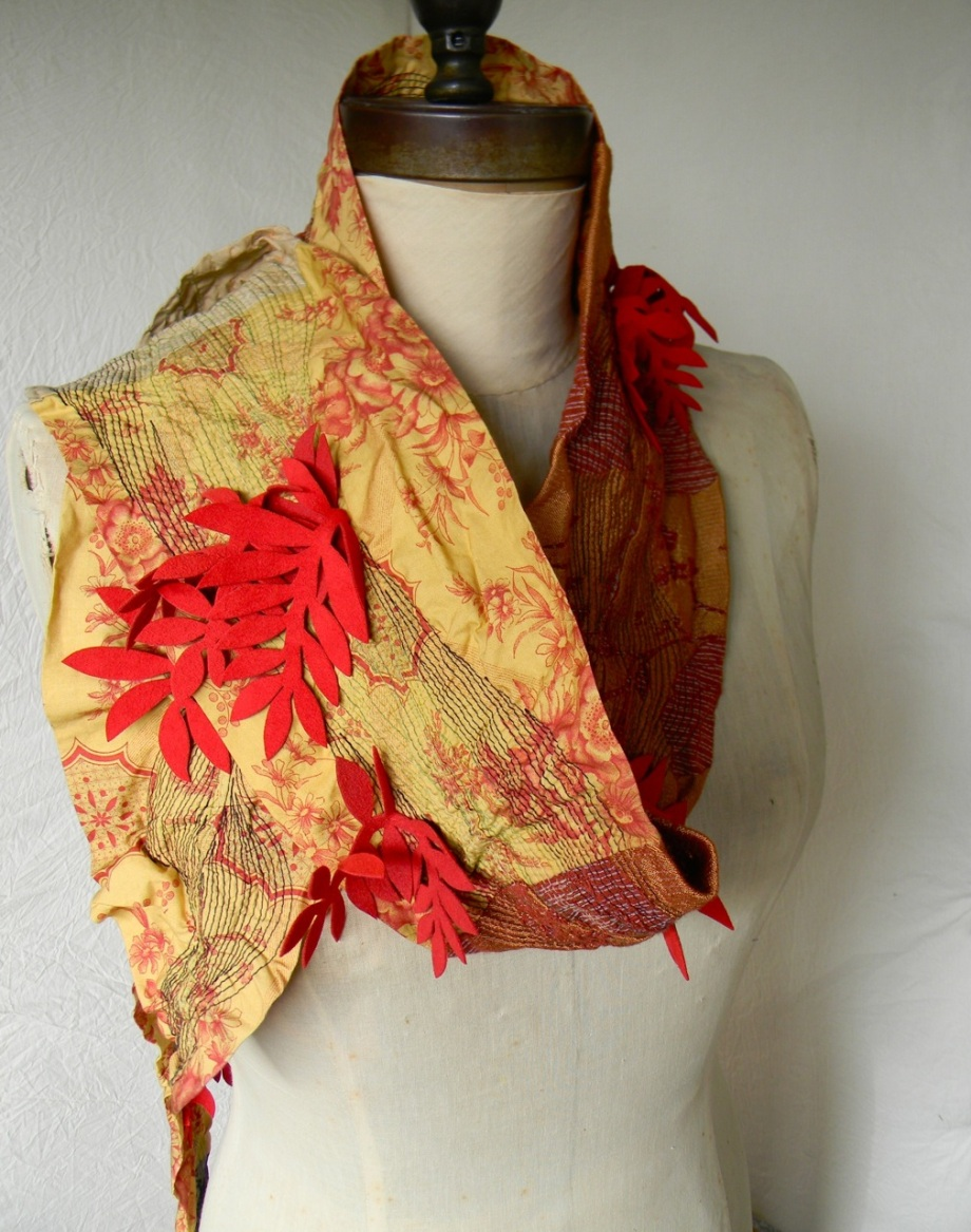 fire leaves scarf1