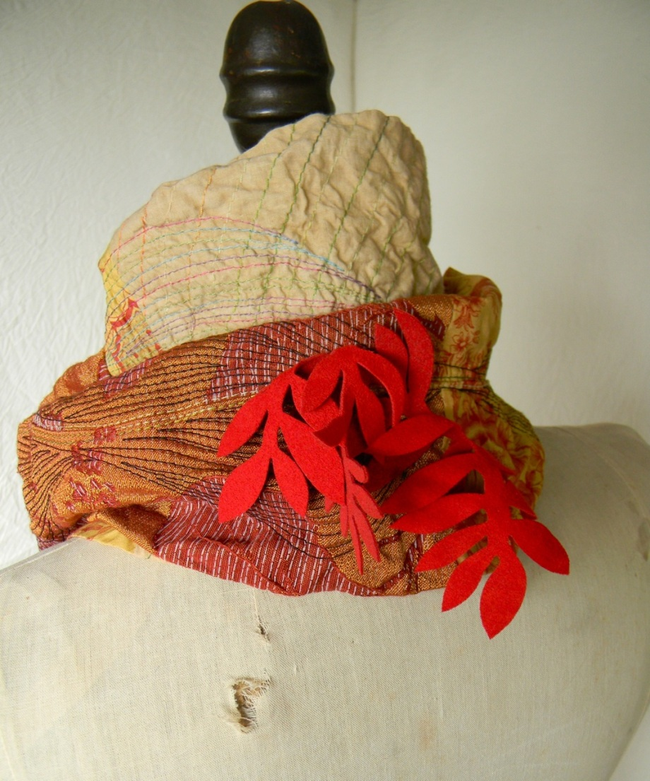 fire leaves scarf5