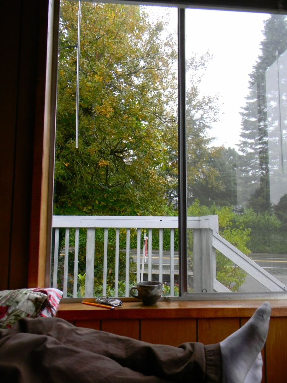 morning in the our new home