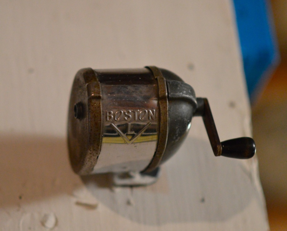 old sharpener